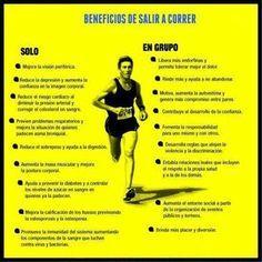 Beneficios de salir a correr #ejercicio #atletismo #running #correr >> Más info: www.voyacorrer.com
