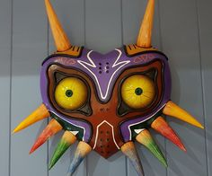 Majoras' Mask - Accurate Replica: 5 Steps (with Pictures)  http://www.instructables.com/id/Majoras-Mask-Accurate-Replica/?utm_campaign=crowdfire&utm_content=crowdfire&utm_medium=social&utm_source=pinterest