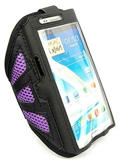 "myLife Octopus Purple and Lab Black with Flex Mesh {Rain Resistant Velcro Secure Running Armband} Dual-Fit Jogging Arm Strap Holder for Samsung Galaxy Note 3 ""All Ports Accessible"" myLife Brand Products http://www.amazon.com/dp/B00T5B2MRE/ref=cm_sw_r_pi_dp_OyYavb133N4VG"