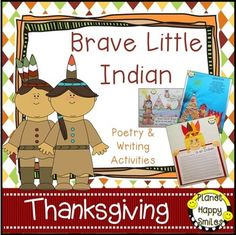 Brave Little Indian is a fun writing and poetry file! The story of the Brave Little Indian is so much fun to act out. There are directions included to tell the parts and the actions to each one. Your kids will want to do it over and over again! They will love the class book page too about what the brave little indian can see.