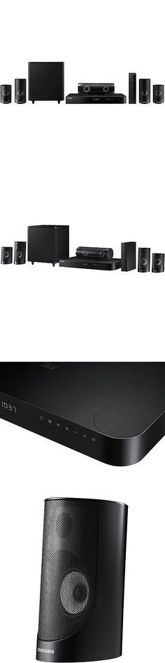 samsung ht j5500w. Home Theater Systems: Samsung Ht-J5500w - 5.1Ch 1000-W 3D Smart Ht J5500w