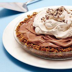 Ovaltine Ice Cream Pie