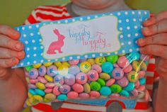 Easter treat bag toppers...