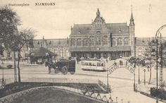 Old Railwaystation Nijmegen - it was bombed in february 1944