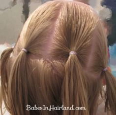 Combo Flower Girl Hairstyle | Babes In Hairland