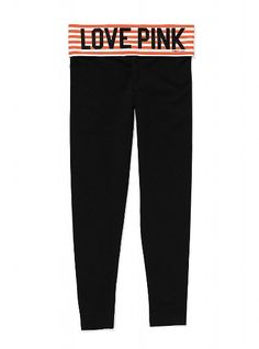 yoga legging.... orange stripe - gunna be my next purchase since my gurl ali works at VS now ;) obsessed!!