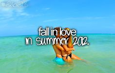 :) maybe just any summer