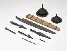 Weaponry from Vimose from 2nd century AD