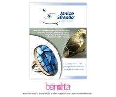 DICA BENDITA DE MODA A designer de joias Janice Sfreddo apresenta uma coleção super criativa. Confira mais em www.janicesfreddo.com.br