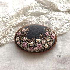 Beaded Embroidery, Hand Embroidery, Thread Work, Sewing Stores, Textile Art, Needlework, Textiles, Buttons, Crafts