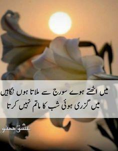 Main Niklty Howe Suraj Say Milata Hun nazarain Main Guzari Hoi Shab Ka Matam Nahi Krta Urdu Poetry Romantic, Love Poetry Urdu, My Poetry, Urdu Quotes, Poetry Quotes, Life Quotes, Islamic Quotes, Relationship Quotes, Urdu Love Words