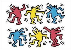 keith haring dogs - Google Search