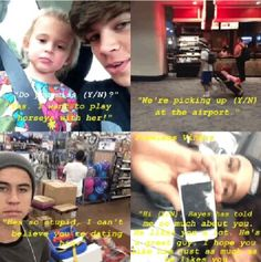 Your relationship with Hayes Hayes Grier Imagines, Magcon Imagines, Magcon Family, Magcon Boys, Future Boyfriend, Future Husband, Nash Grier, O2l, Guys And Girls
