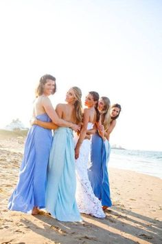 beach bridesmaid dresses - Google Search