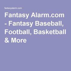 Fantasy Alarm.com - Fantasy Baseball, Football, Basketball & More