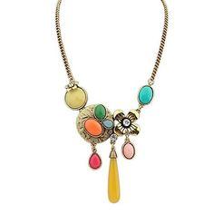 style européen collier coloré – CAD $ 10.95