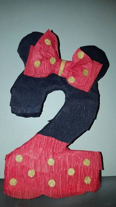 Check out this item in my Etsy shop https://www.etsy.com/listing/264017741/minnie-mouse-mickey-mouse-number-pinata