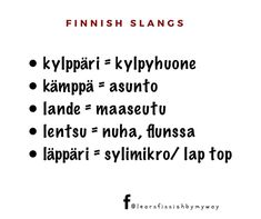 Learn Finnish, Finnish Language, My Way, Languages, Finland, Fun Facts, Learning, Instagram, Travel
