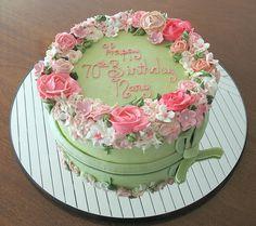 Birthday Cake, By Wendy DeBord