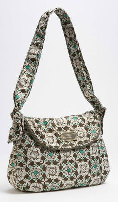 MARC BY MARC JACOBS Bramble Green Pretty Nylon Batik Sasha Shoulder Bag New NWT #MarcbyMarcJacobs #ShoulderBag