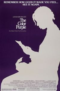 Color Purple Original Movie Poster 27x40 86  Rerelease Spielberg | eBay