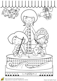 amusement park coloring pages : Coloring and coloring