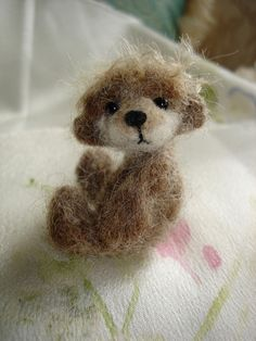 felted bear