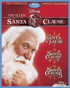 Movies: THE SANTA CLAUSE Movie Collection on Blu-ray  GIVEAWAY