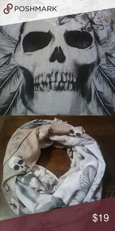 Skull Scarf/Wrap Skull Scarf/Wrap Accessories Scarves & Wraps