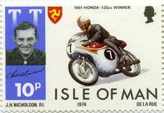 Mike Hailwwod TT  île de Man