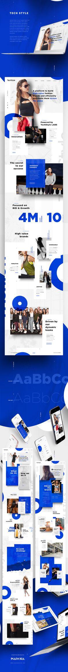 다음 @Behance 프로젝트 확인: \u201cTechSyle\u201d https://www.behance.net/gallery/48782631/TechSyle