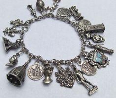 Silver Charm Bracelet by DKTompkins