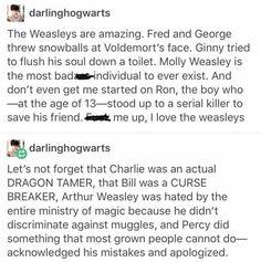Weasleys <3