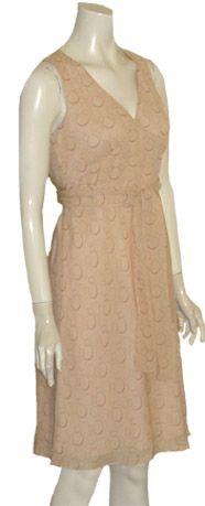 Ann Taylor Petites Tan Dress