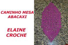 Vídeo aula mostrando a confecção do Caminho Mesa Abacaxi em crochê - da Professora Elaine. A pioneira no ensino do Crochê On Line. Visite www.elainecroche.bl...