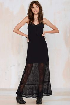 Rhiannon Lace Maxi Dress