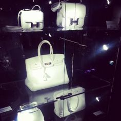 On Responsibility and a white Hermés Birkin by Ashleigh Hite #gottaloveit