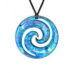 Maori Symbols Double Koru - I have a few koru things, and a few paua things but this is very very pretty.