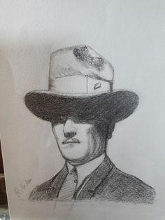 Atatürk  karakalem kendi calismalarim