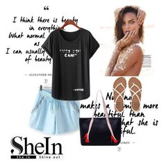 """Shein 1"" by aida-1999 ❤ liked on Polyvore featuring Billabong"