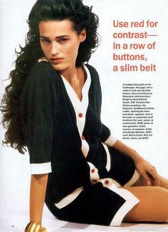 ☆ Yasmin Le Bon | Photography by Pamela Hanson | For Mademoiselle Magazine | February 1992 ☆ #Yasmin_Le_Bon #Pamela_Hanson #Mademoiselle_Magazine #1992