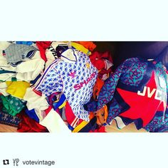 Oh baby  @votevintage with @repostapp  Here comes the RE UP!!! 100 rare footy shirts from 80s & 90s just in. Lots of Man United Liverpool Arsenal City Villa & some weird ones like Northampton Town & St Johnstone thrown in for good measure. Lots of names & numbers too. DM to book a private viewing in our Digbeth Studio for best prices before they go online. Peace x votevintage.co.uk #football #footy #footballshirt #vintagefootballshirt #seriea #epl #premierleague #ultra #fresh…