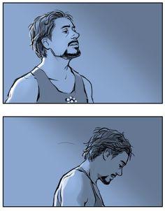 Tired Ironman.. by Hallpen.deviantart.com on @deviantART