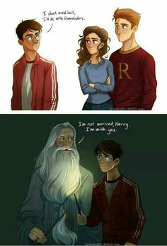 How much of a fatherly figure does this illustrator paint dumbledore to be