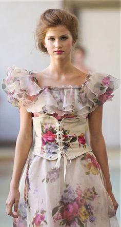 Lieblich Luisa Beccaria At Milan Fashion Week Spring 2012   Runway Photos