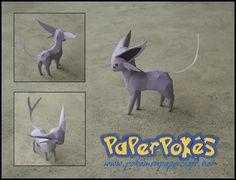 PaperPokés - Pokémon Papercrafts: ESPEON v2: Mini