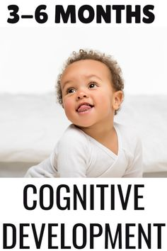 These baby play ideas for 3-6-month-old infants focus on building cognitive skills.  Discover what intellectual development looks like and how to encourage it through infant play and daily routines. Infant Play, Baby Play, Daily Routines, 6 Month Olds, Play Ideas, Baby Milestones, Infants, 6 Months, Encouragement