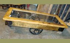 factory cart table - Google Search