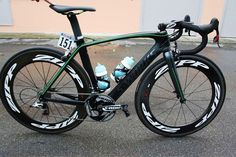 Mark Cavendish's custom Specialized McLaren Venge at the Giro
