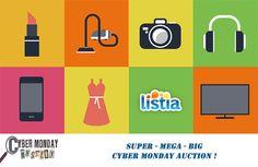 SUPER-MEGA-BIG Cyber Monday Auction!